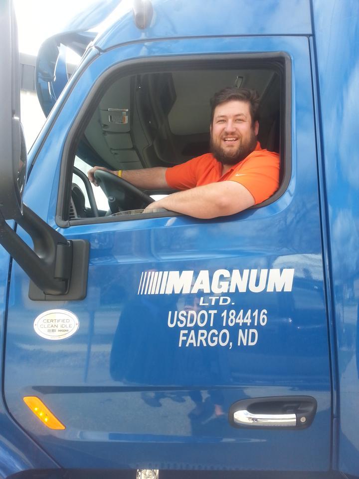 Tony in the Truck