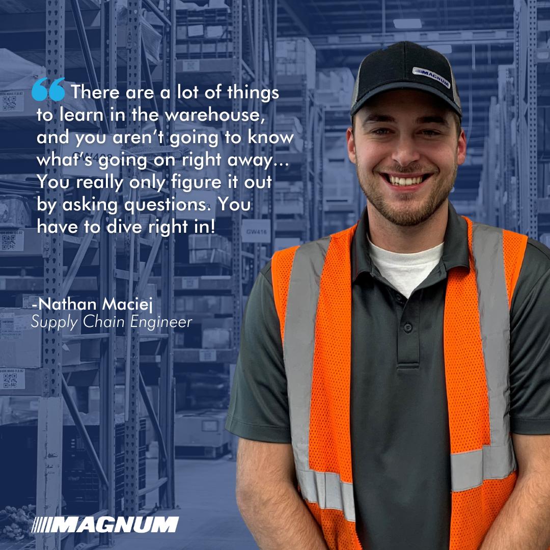 Supply Chain Engineer Nathan