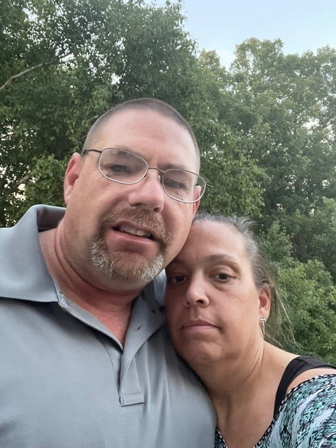 Driver Trainer Sean w/ wife